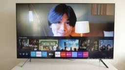 "Smart Tv LED 50"" 4K Samsung Crystal UHD, Visual Livre de Cabos, Controle Único"
