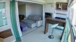 Apartamento 3/4 2 suítes Le Parc mobiliado