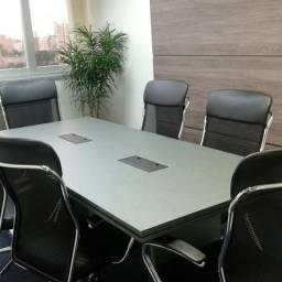 Mesa para escritório reunião empresa