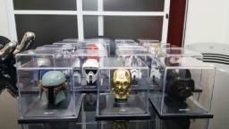 19 Capacetes Star Wars (Miniatura / Escala 1/5) (coleção planeta deagostini)