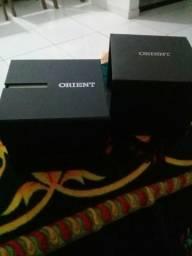 Orient original automatico bateria um ano e meio de garantia