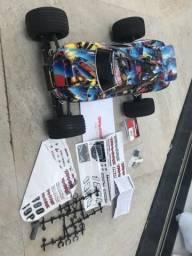 Traxxas Rustler + Motor Brushless + Esc 60A + Bateria LIPO 5000mah