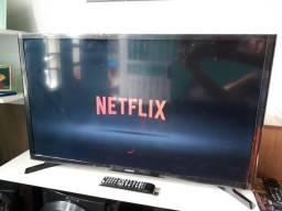 Smart TV led 32 Zerada com os ladinhos no plástico! Wiffi e entrega!!!