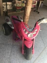 Moto Eletrica Bandeirante Rosa