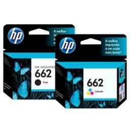 Cartucho HP 662 Preto ou Color