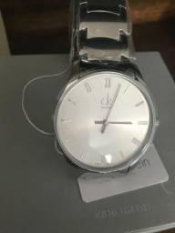 783b45baf Vendo ou troco - Relógio Calvin Klein Prata