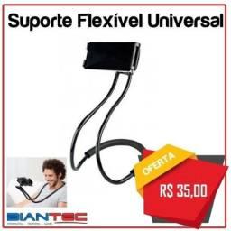 Suporte Flexível Universal para Smartphones, Iphones e Tablets