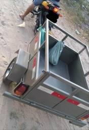 Fabricação de carretinha pra carro e moto