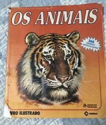 Álbum de figurinhas os animais