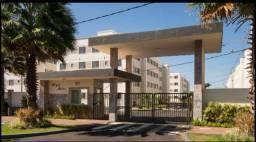 Alugo apartamento com área externa no Âmbar
