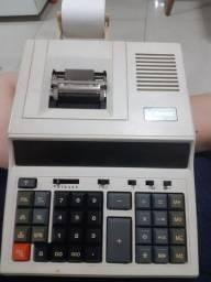 Calculadora com bobina de papel