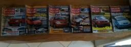 Revistas Motor Show - Edições 2003 e 2004 Editora 3 - Coleção