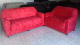 Sofá Carol vermelho