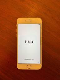 Vendo IPhone 7 dourado128gb