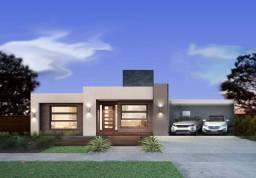 Vendo casa na planta com financ. terreno e construção,com piscina Proj Exclu150mts