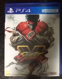 Street fighter V jogo ps4