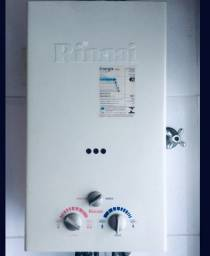 Aquecedor de passagem a gás vazão 15 L/min - Rinnai REU-157BR FE