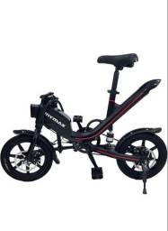 Bicicleta eletrica e a pedal