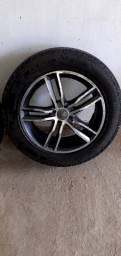 2 rodas aro 17 4X100