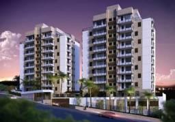 Apartamento com 2 dormitórios à venda, 75 m² por R$ 403.618,26 - Dos Funcionários - Poços