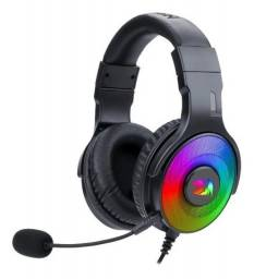 Headset Gamer 7.1 Redragon Pandora Rgb Surround H350rgb