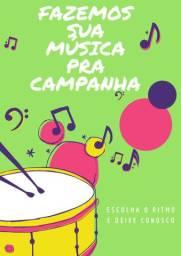 Música pra sua campanha política