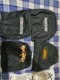 4 capa de capacete novos