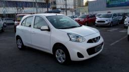 NISSAN MARCH S 1.0 12V FLEXSTART Branco 2018/2019