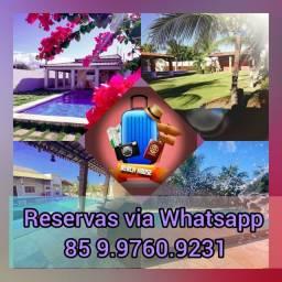 Aluguel de casas de praia caponga Ceará