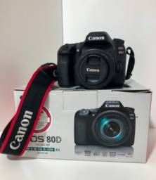 Canon 80D + Lente Canon 50mm + Kit completo para pessoas exigentes