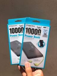 Carregador portátil power bank 10000mah