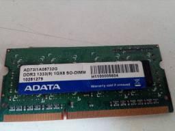 Memoria ddr 1333 1g x8 dimm para not