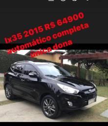 Ix 35/2015 R$ 64900 automática flex único dono completa