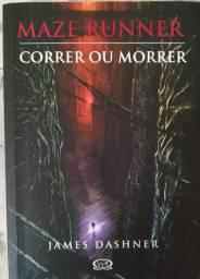 Livro Maze Runner Correr ou Morrer