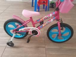 Bicicleta menina aro 16 Unicórnio