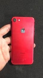 IPhone 7 vermelho 128g