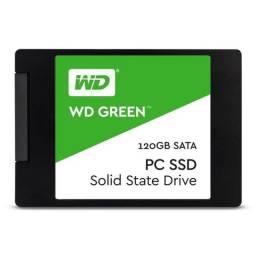 Hd SSD wd Green 120gb Sata III 6gb/s