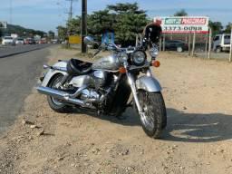 Moto Honda Shadow 2008 750cc Prata