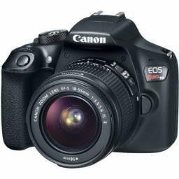Câmera digital t6 canon