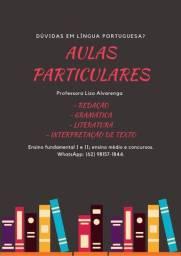 Aulas particulares de língua portuguesa