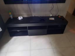 Rack com painel para TV até 65 polegadas