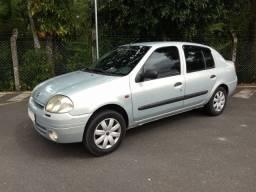 Vendo ou Troco.Clio Sedam 2001 1.0 Completo