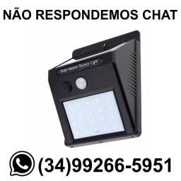 ? Entrega Grátis * Luminária Solar c/ Sensor de Presença * Chame no Whats