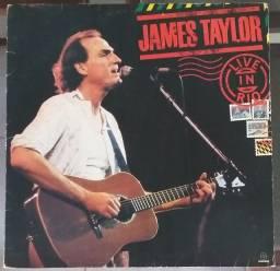 LP Vinil James Taylor Live in Rio