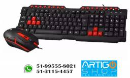 Kit Gamer Teclado E Mouse Usb Gk-20 C3tech