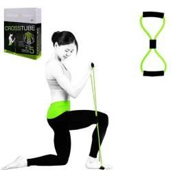 Elástico Tensão Exercícios Ombro Biceps Triceps Peito Costas novo lacrado