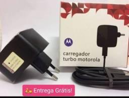 Carregador Motorola Turbo R$45,00!! Aproveite a Promoção