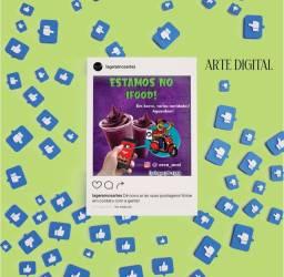 Artes digitais para mídias sociais