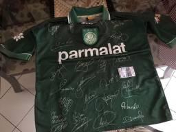 Camisa do Palmeiras Libertadores 1999 Original Relíquia