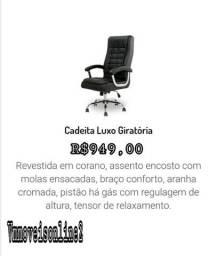 Cadeira Giratória Luxo